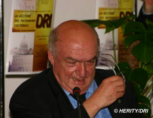 Antonio Paolucci al Meeting DRI - HERITY del 2005